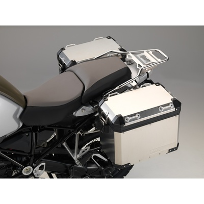 BMW R1250GS Adventure (2019-) Aluminium Panniers Protection Film Kit (Left and Right) Installed